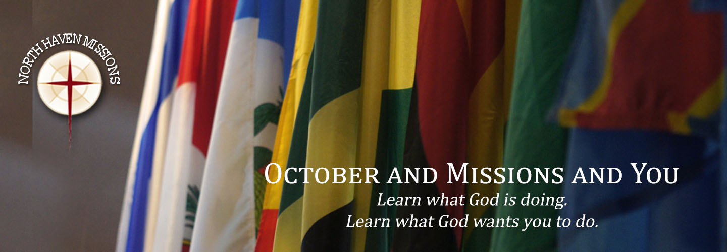 October is Missions Month